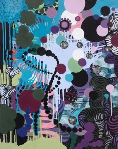 'Meccanica celesta' - 73 x 92 cm - Acrylique sur toile - 2009
