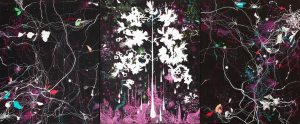'Arbre' - Acrylique sur toile - 130x160cm - 2006