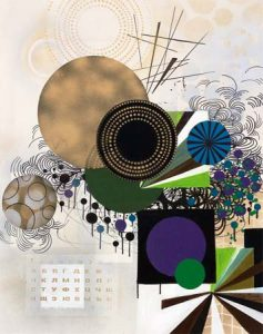 'Lovely day' - 89 x 75 cm - Acrylique sur toile - 2010