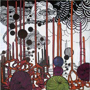 West Side V - dessin sur toile - 24x30cm - 2011